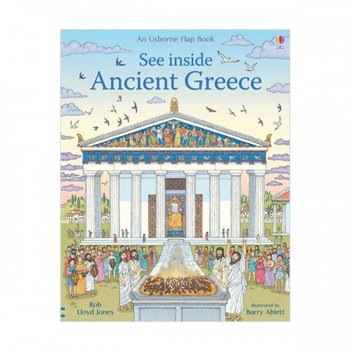 See Inside : Ancient Greece (Hardcover, 영국판)