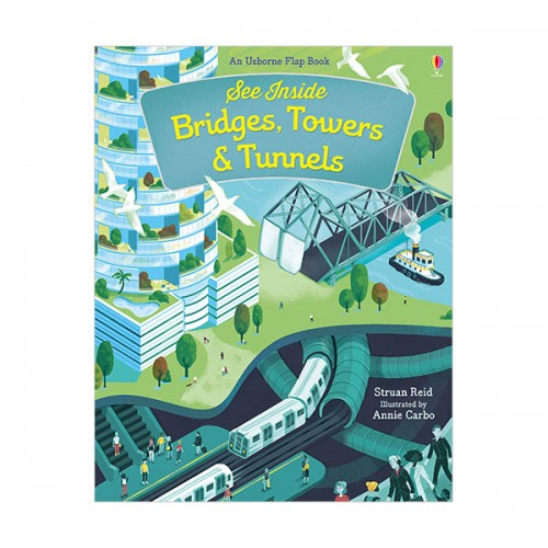 See Inside :  Bridges, Towers and Tunnels (Hardcover, 영국판)