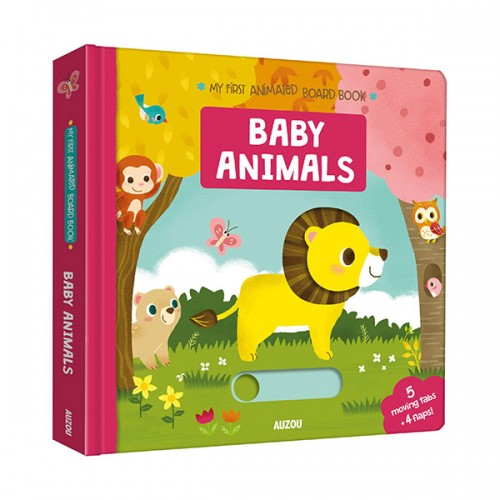 My First Animated Board Book : Baby Animals (Board Book, 영국판)