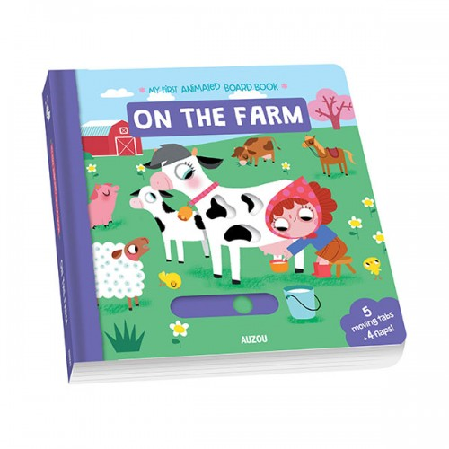 My First Animated Board Book : On the Farm (Board Book, 영국판)