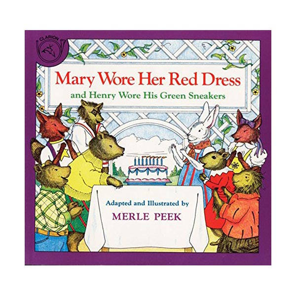 Mary Wore Her Red Dress and Henry Wore His Green Sneakers (Paperback)