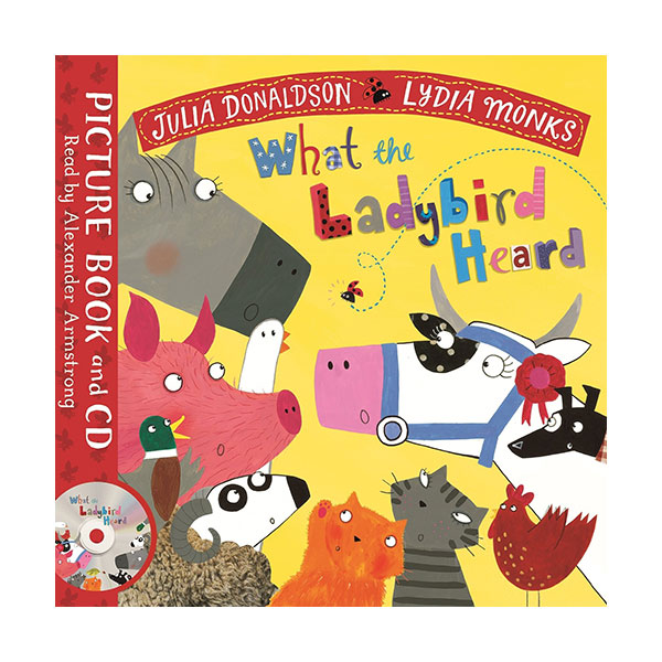 What the Ladybird Heard (Paperback&CD, 영국판)