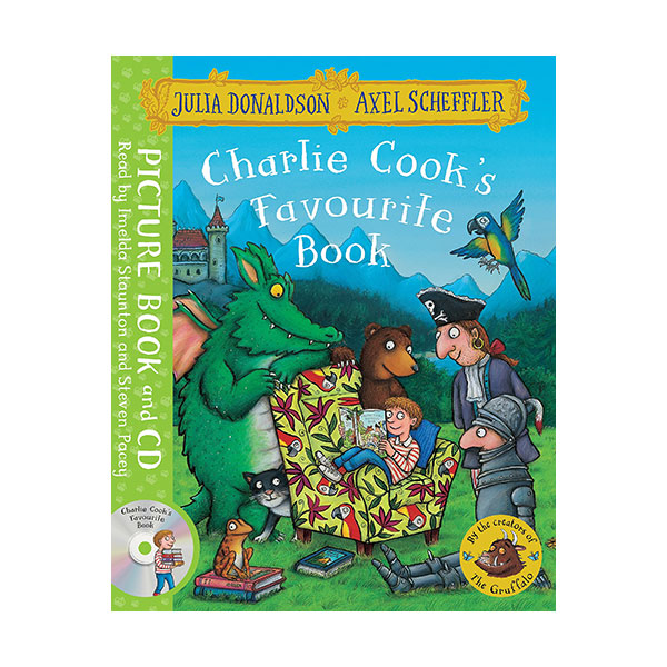 Charlie Cook's Favourite Book (Paperback&CD, 영국판)