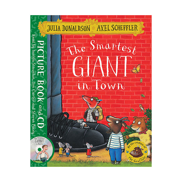 The Smartest Giant in Town (Paperback&CD, 영국판)