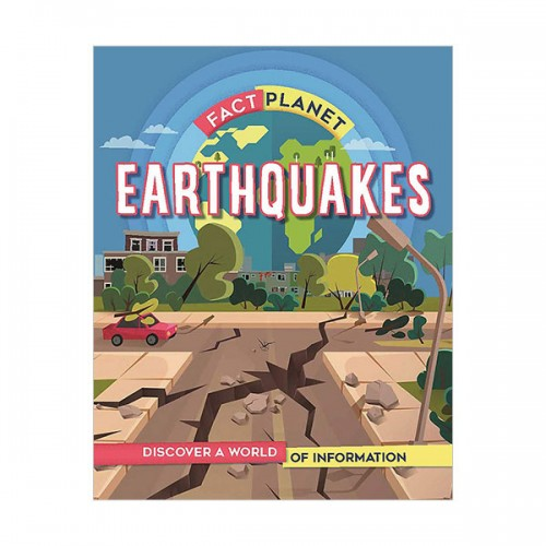 Fact Planet : Earthquakes (Hardcover, 영국판)