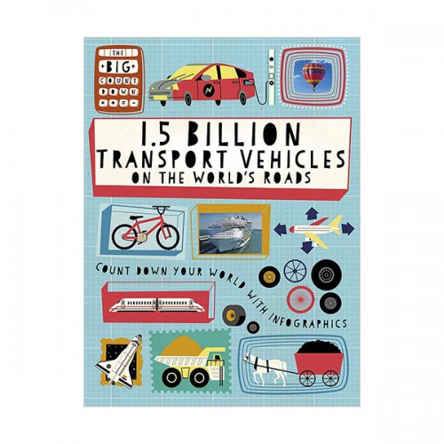 Big Countdown : 1.5 Billion Transport Vehicles on the World's Roads (Paperback, 영국판)