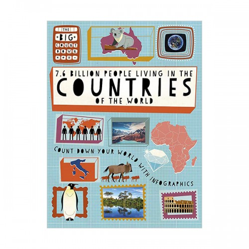Big Countdown : 7.6 Billion People Living in the Countries of the World (Paperback, 영국판)