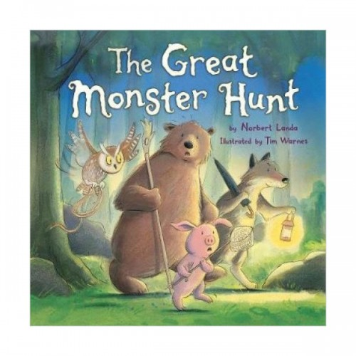 The Great Monster Hunt (Book & CD, 영국판)