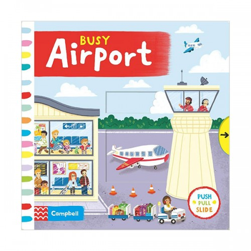 Busy Books : Busy Airport (Board book, 영국판)
