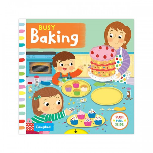 Busy Books : Busy Baking (Board book, 영국판)