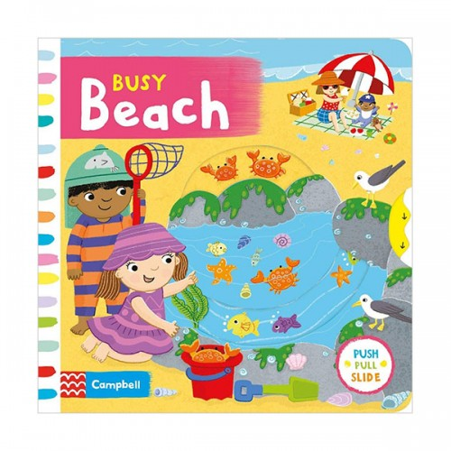 Busy Books : Busy Beach (Board book, 영국판)