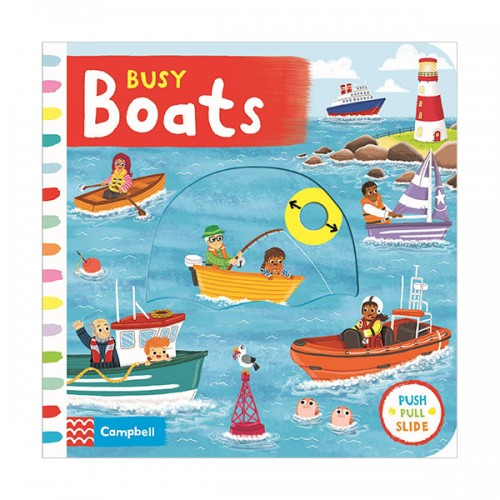 Busy Books : Busy Boats (Board book, 영국판)
