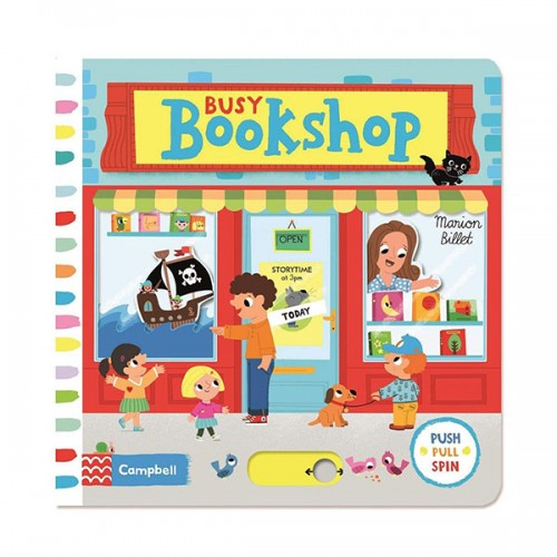 Busy Books : Busy Bookshop (Board book, 영국판)