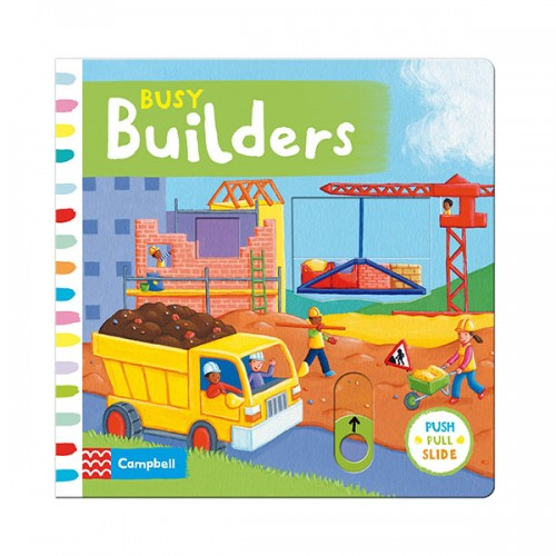 Busy Books : Busy Builders (Board book, 영국판)