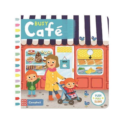 Busy Books : Busy Café (Board book, 영국판)