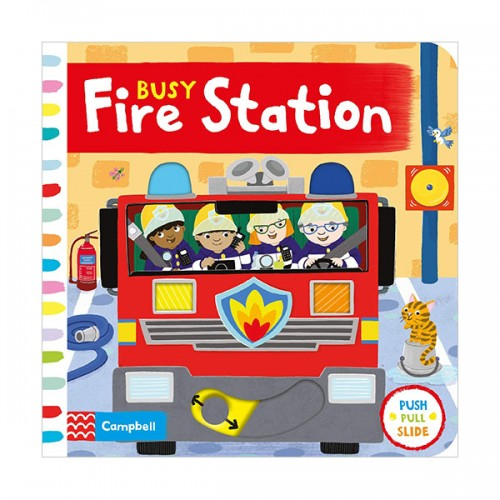 Busy Books : Busy Fire Station (Board book, 영국판)