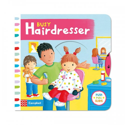 Busy Books : Busy Hairdresser (Board book, 영국판)