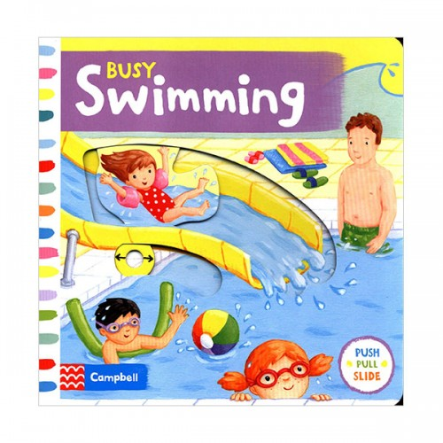 Busy Books : Busy Swimming (Board book, 영국판)