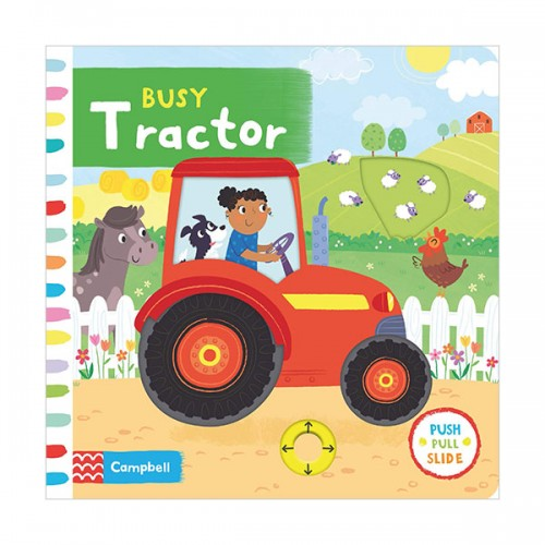Busy Books : Busy Tractor (Board book, 영국판)
