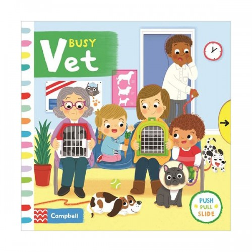 Busy Books : Busy Vet (Board book, 영국판)