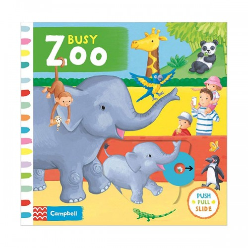 Busy Books : Busy Zoo (Board book, 영국판)