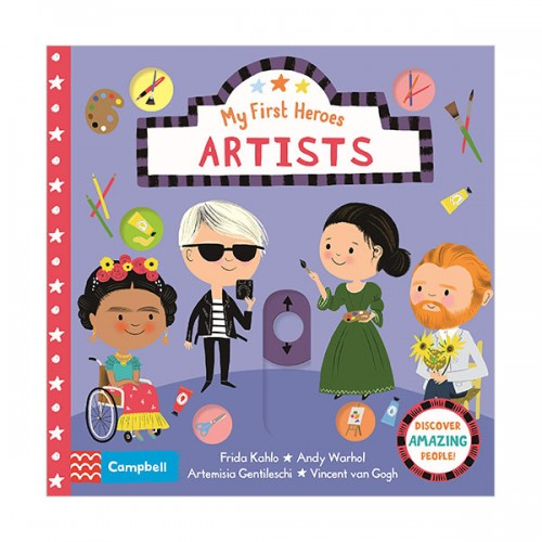 My First Heroes : Artists (Board book, 영국판)