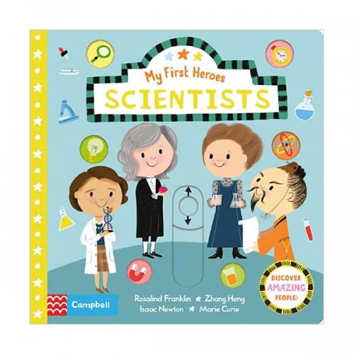 My First Heroes : Scientists (Board book, 영국판)