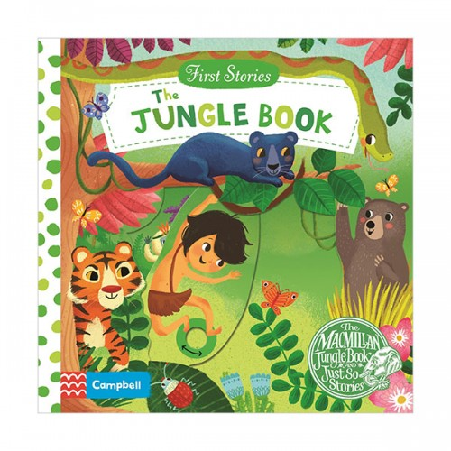 First Stories : The Jungle Book (Board book, 영국판)