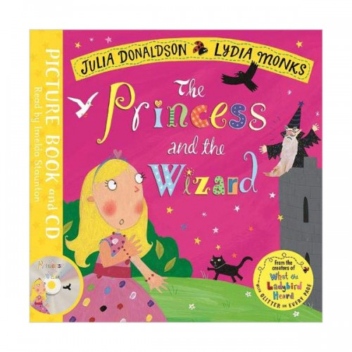 The Princess and the Wizard (Book & CD, 영국판)