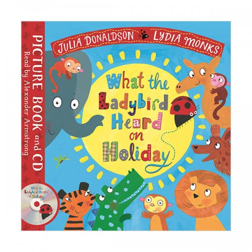 What the Ladybird Heard on Holiday (Book & CD, 영국판)