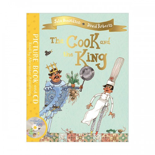 The Cook and the King (Book & CD, 영국판)