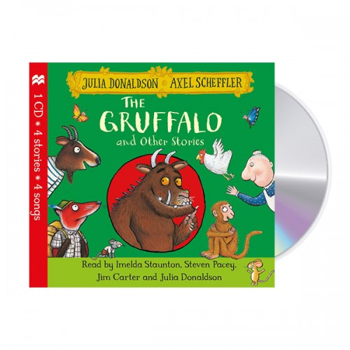 The Gruffalo and Other Stories CD (Audio CD, 영국판) (도서미포함)