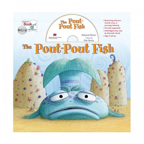The Pout-Pout Fish book and CD storytime set (Paperback+CD)