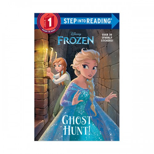 Step Into Reading 1 : Disney Frozen : Ghost Hunt! (Paperback)