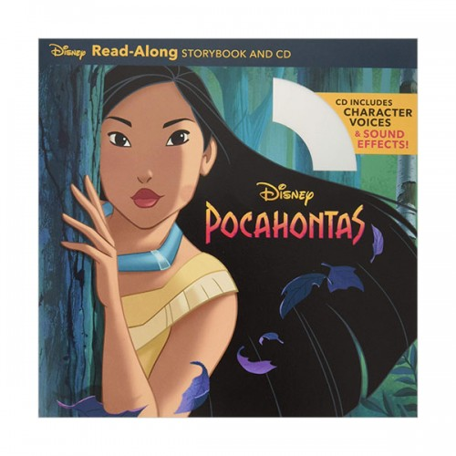 ★키즈코믹콘★Read-Along : Pocahontas (Book & CD)