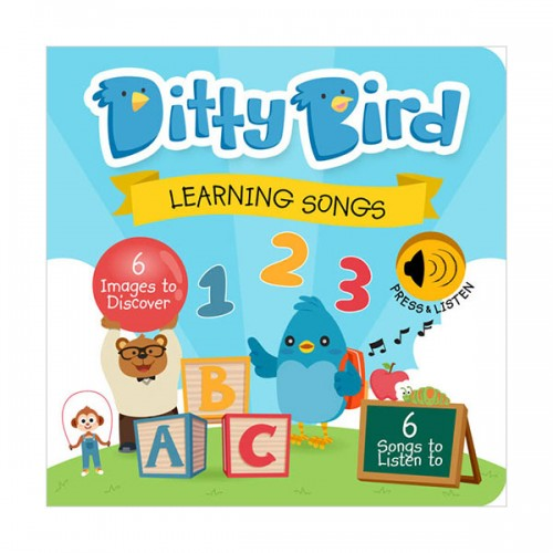 Ditty Bird : Learning Songs (Board book, Sound book)