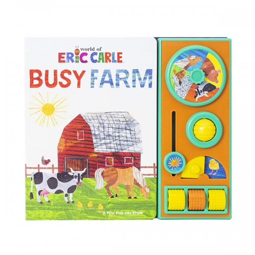 Eric Carle Busy Farm Baby Book (Board book)