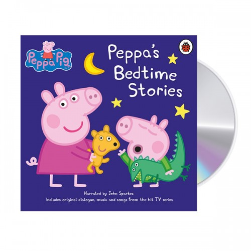 ★키즈코믹콘★Peppa Pig : Bedtime Stories (Audio CD, 영국판)