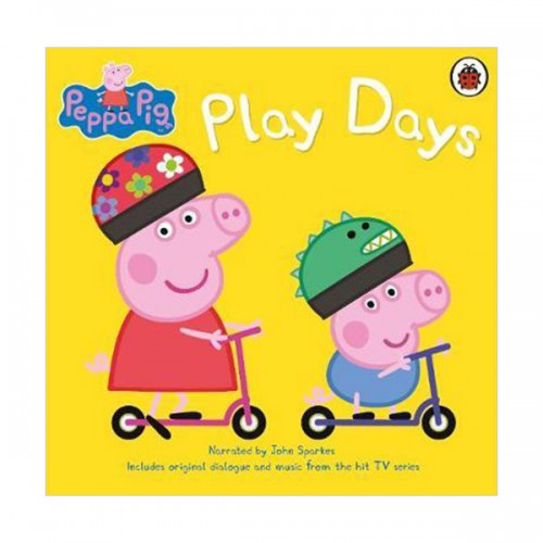★키즈코믹콘★Peppa Pig : Play Days (Audio CD, 영국판)