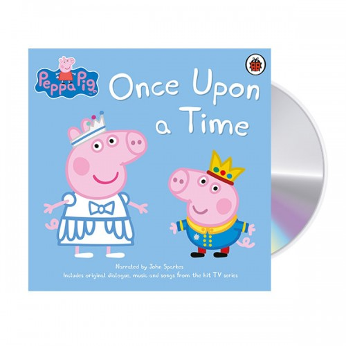 Peppa Pig : Once Upon a Time (Audio CD, 영국판) (도서미포함)