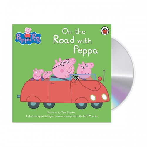 ★키즈코믹콘★Peppa Pig : On the Road with Peppa (Audio CD, 영국판) (도서미포함)