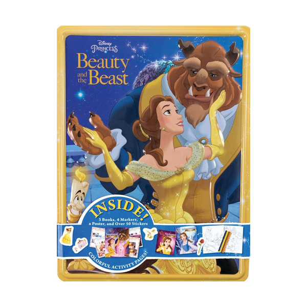 Happy Tin : Disney Princess Beauty and the Beast (Happy Tin)