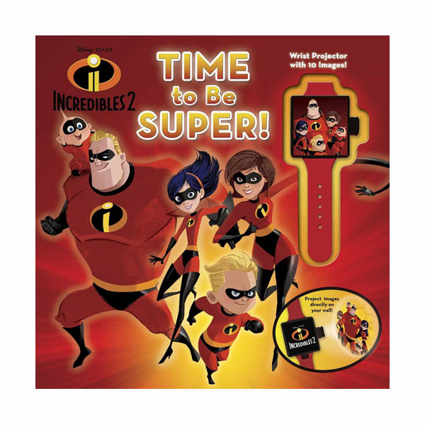 Disney Pixar Incredibles 2: Time to Be Super! (Hardcover)