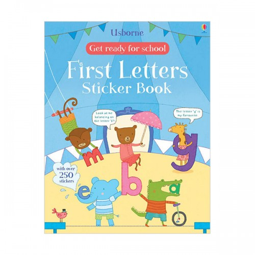 Get Ready for School First Letters Sticker Book (Paperback, 영국판)