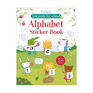 Get Ready for School Sticker Books : Alphabet  (Paperback, 영국판)