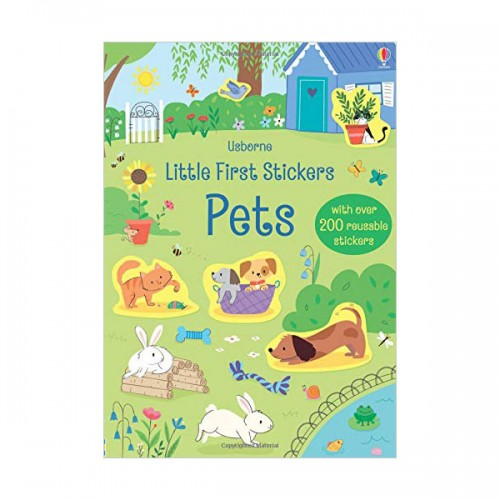 Little First Stickers Pets (Paperback, 영국판)
