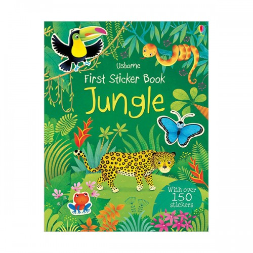 First Sticker Book Jungle (Paperback, 영국판)
