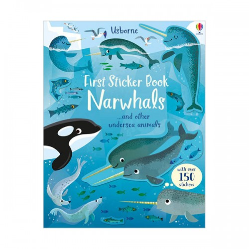 First Sticker Book Narwhals (Paperback, 영국판)