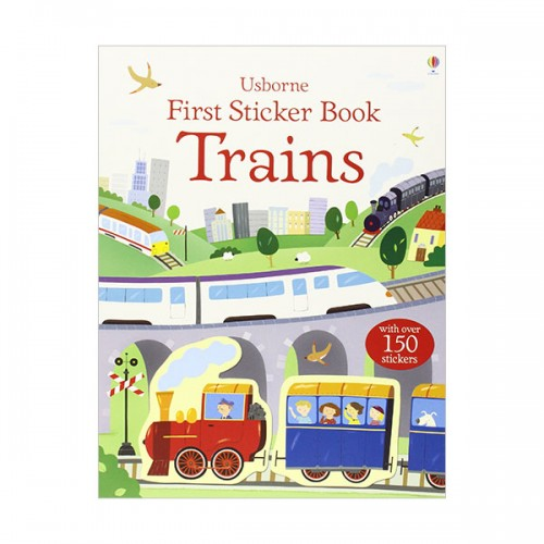 First Sticker Book Trains (Paperback, 영국판)