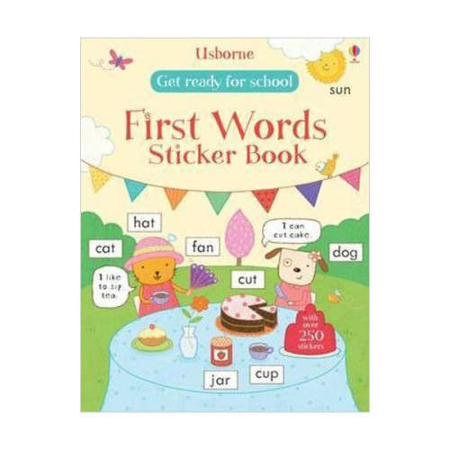 Get Ready for School First Words Sticker Book (Paperback, 영국판)